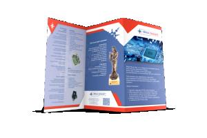 ulotki składane - druk online