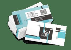 drukowane wizytówki